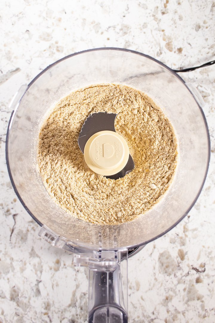 AIP grated parmesan in a food processor